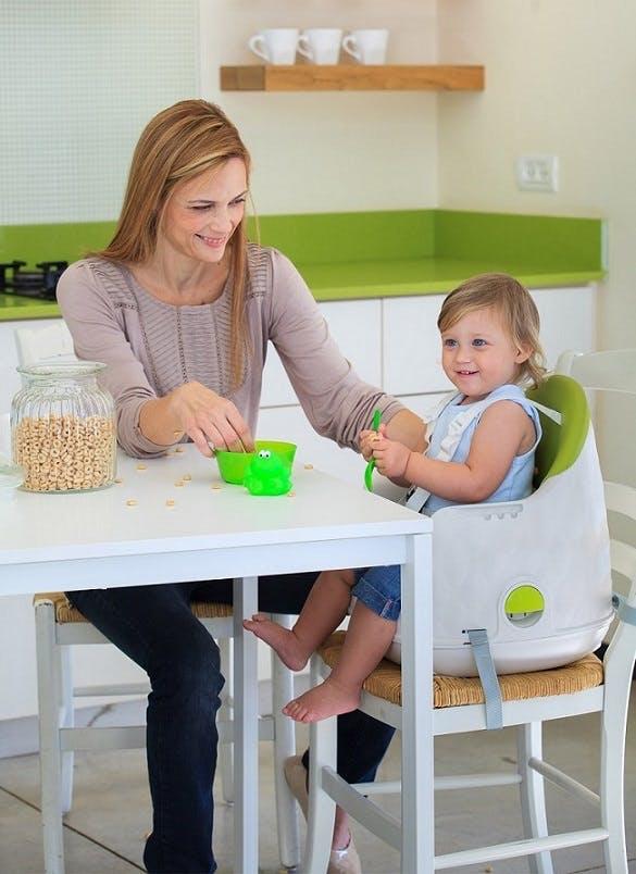 Chaise haute Multi Dine de Babytolove - réhausseur