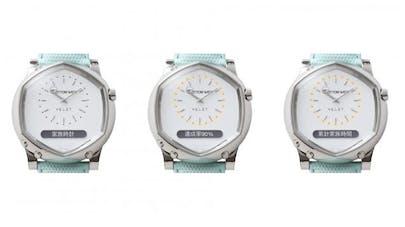 Tottori Watch, la montre qui calcule le temps que vous passez en famille.