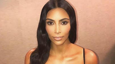 Kim Kardashian : adorable photo avec ses deux enfants