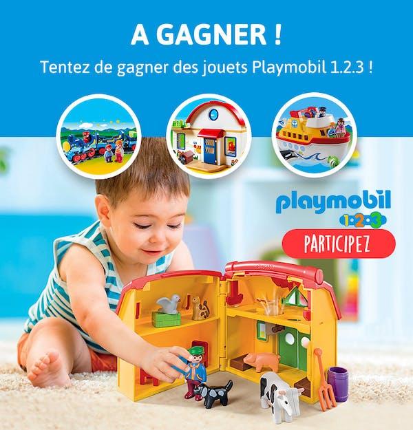 Des jouets Playmobil à gagner !
