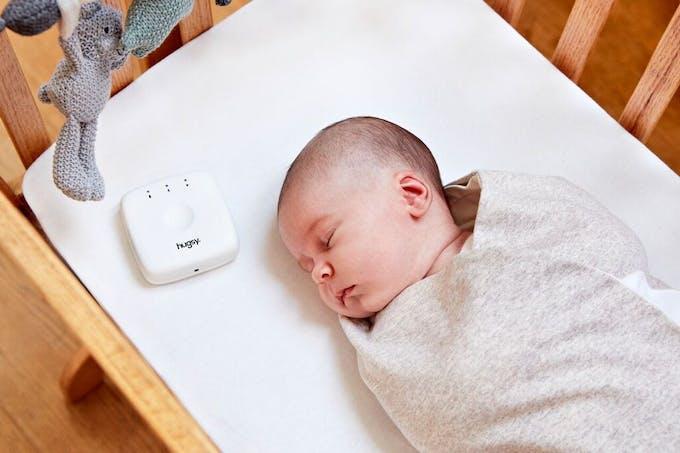 boitier hugsy bebe qui dort