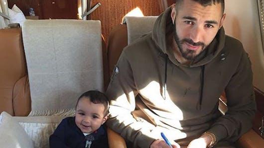Karim Benzema dévoile enfin le visage de son fils