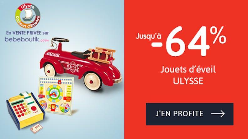 - 64% de réduction chez Ulysse