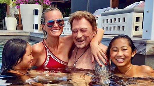 Johnny Hallyday : ses derniers moments de joie avec ses enfants (photos)