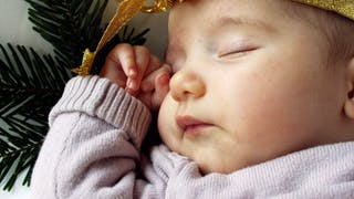 bébé or et argent