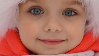 voici la plus belle petite fille du monde