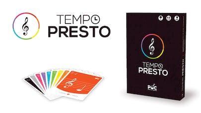 Tempo Presto, le premier jeu de cartes d'éveil musical pour les enfants!