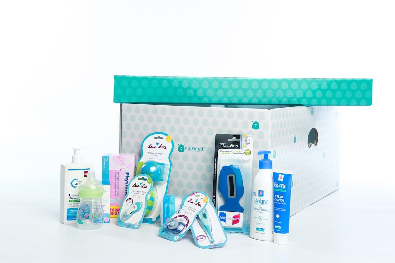 Babybox marmott  boite essentiel