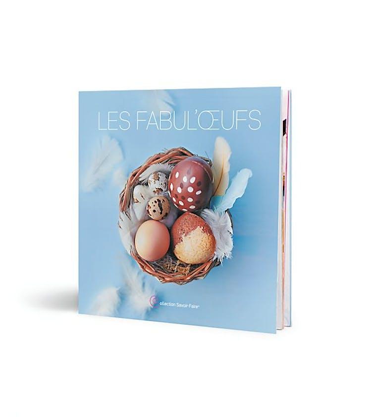 """Pâques : Livre de recettes """"Les Fabul'œufs"""""""