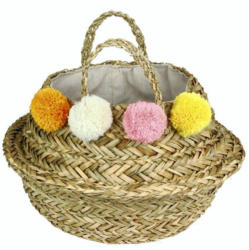 Panier à pompons Pâques