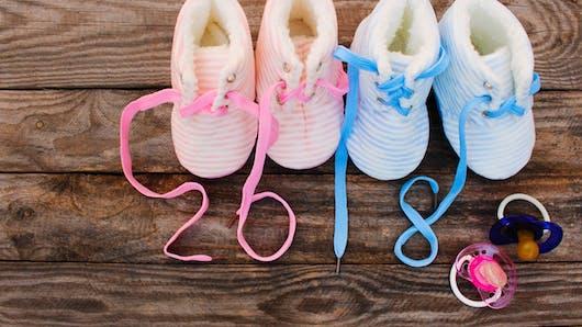 Plus de 2 000 bébés sont nés le 1er janvier 2018 en France !