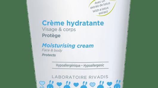La crème hydratante de RIVADOUCE BEBE