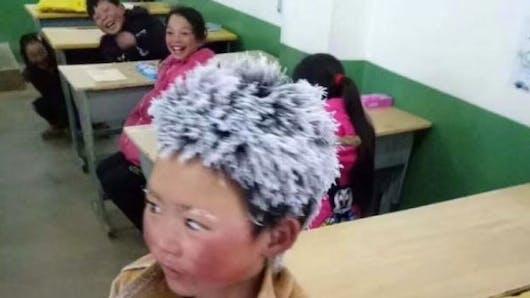 Ice Boy : l'histoire de ce petit Chinois qui va à l'école émeut le web