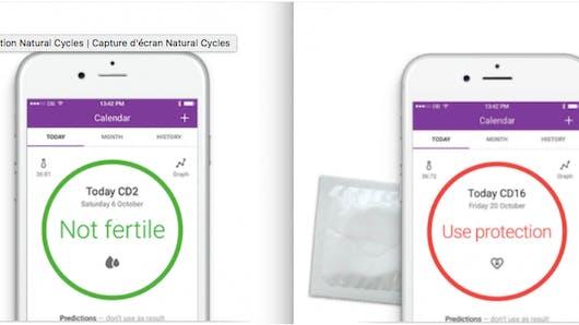 Natural Cycles: attention, cette appli contraceptive fonctionnerait mal!