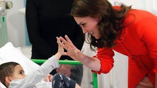 Kate Middleton a fait don de ses cheveux à des enfants atteints de cancer