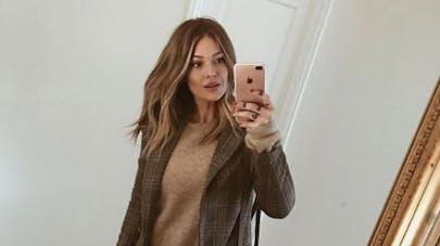 Caroline Receveur annonce sa grossesse en photo