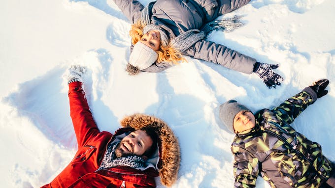 Vacances d'hiver avec les enfants : c'est parti !