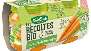 Blédina lance une gamme bio Les récoltes bio
