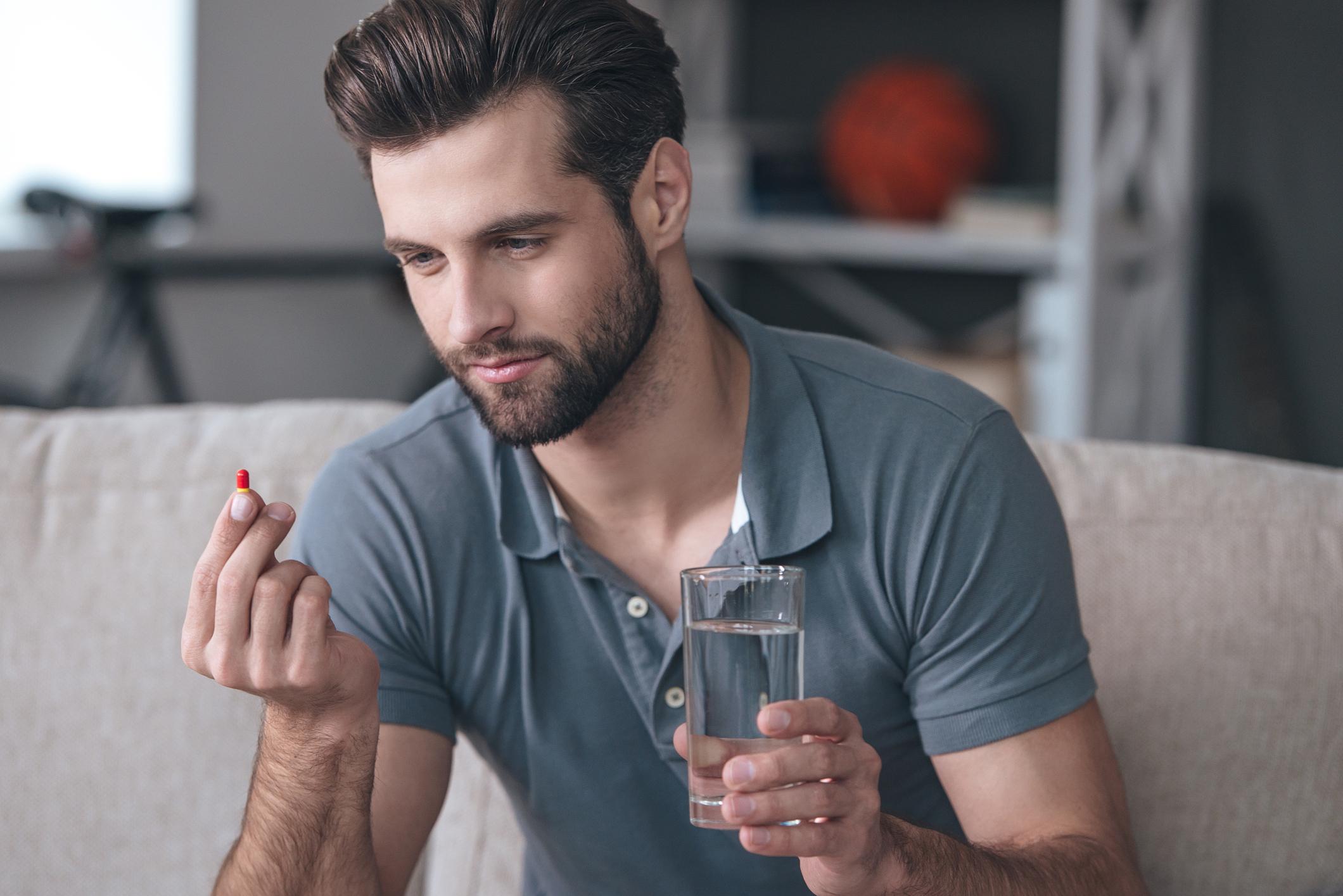 Des progrès concluants sur un nouveau produit — Pilule pour homme