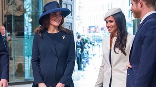 Kate Middleton et Meghan Markle : des émojis créés à leur effigie !