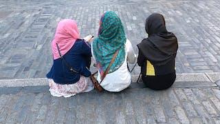 étudiante afghane