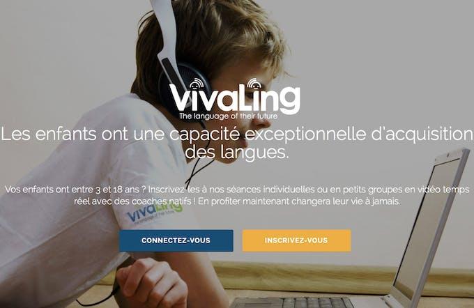 VivaLing enfant et ordinateur