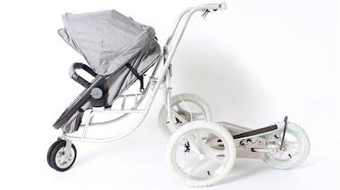 Une poussette elliptique, pour retrouver la forme après la naissance de bébé