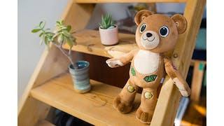 Jerry l'ourson pour enfants diabétiques
