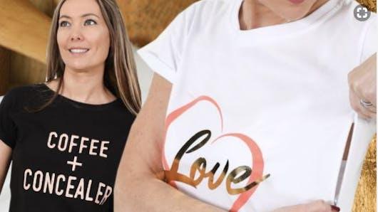 Royaume-Uni : elle invente un t-shirt pour faciliter l'allaitement en public (vidéo)