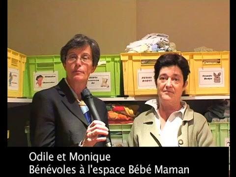 Espace Bébé Maman : la parole aux mamans et aux   bénévoles