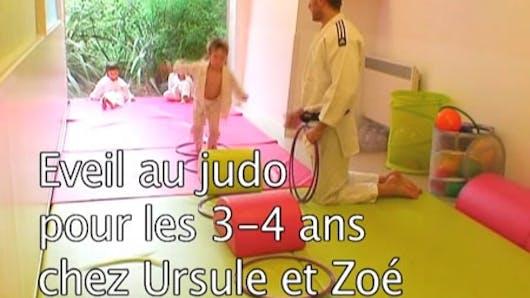 Eveil au judo pour les 3-4 ans
