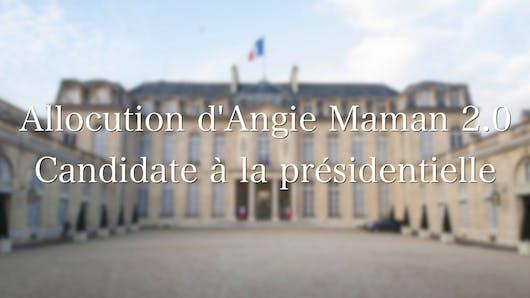 Angie Présidente !