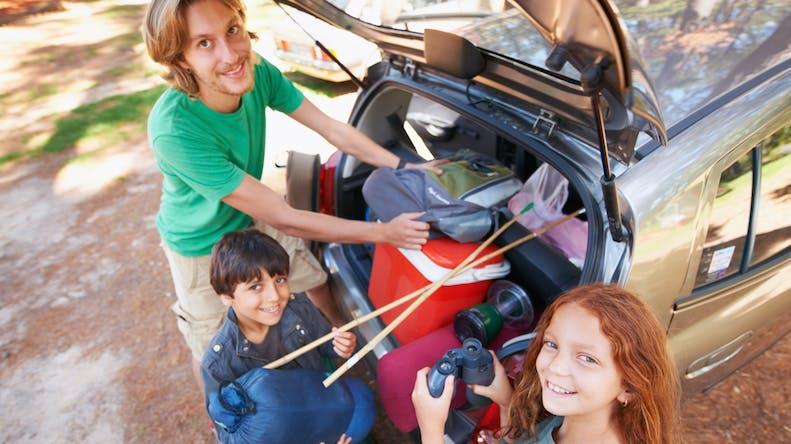 Les vacances des familles recomposées