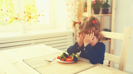 Alimentation sélective des enfants