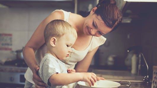 Cuisiner avec les enfants