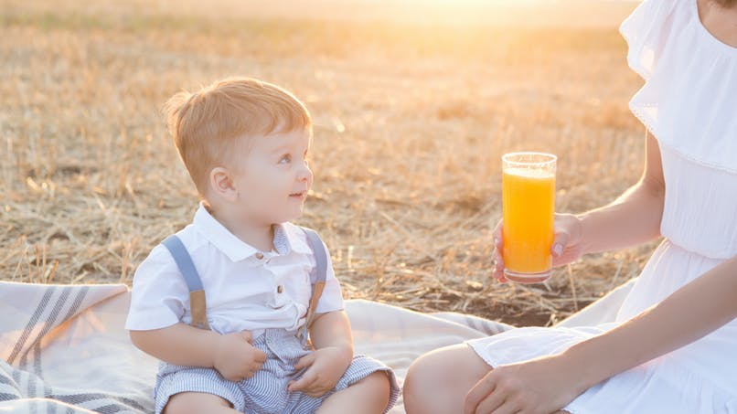 Quelles boissons pour mon enfant ?