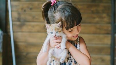 Offrir un animal de compagnie à son enfant