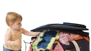 L'équipement de Bébé en vacances