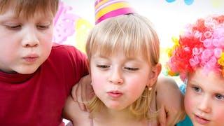 Réussir un après-midi d'anniversaire avec des   enfants