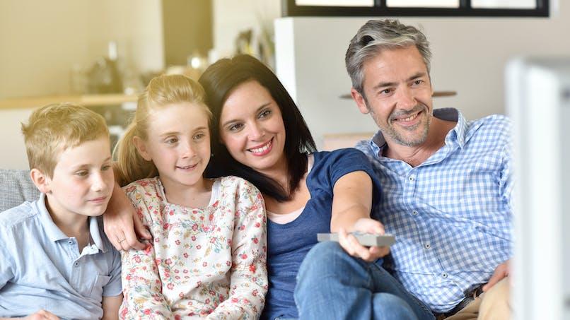 Soirée DVD en famille