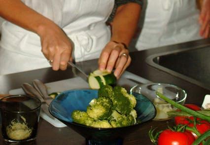 Etape 2 : cuisiner les légumes...