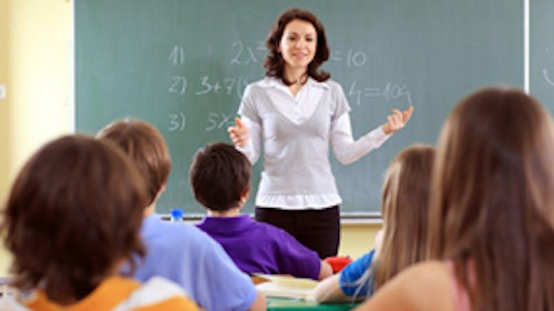 Convoquée par la maîtresse d'école