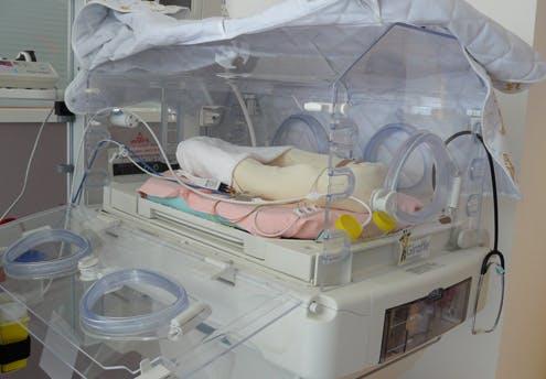 Chambre double en néonatologie