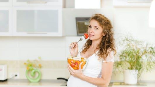 La pyramide alimentaire spéciale femme enceinte