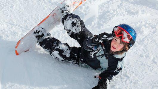Le snowboard pour les enfants
