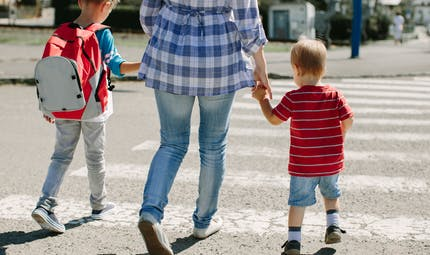 Ramassage scolaire à pied