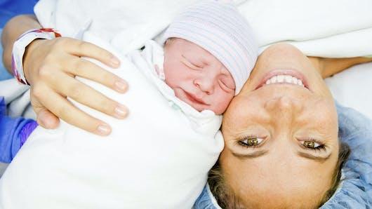 Maman-bébé : la première rencontre