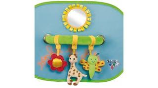 Pare-soleil arche activités Sophie la Girafe,       Vulli