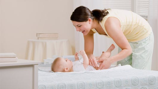 Bébé a des vers intestinaux