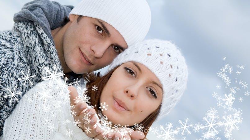 Vrai/faux : enceinte en hiver